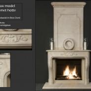 Model_1160_met_hotte_Bois_Doré
