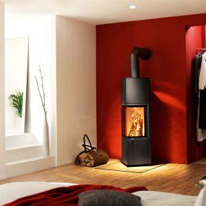 spartherm selection piko m vrijstaande houthaard wildenborg haarden. Black Bedroom Furniture Sets. Home Design Ideas